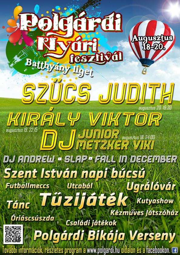 Polgárdi Nyári Fesztivál 2013